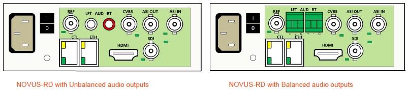 NOVUS-RD Back Panel