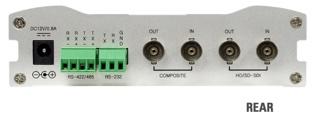 VS-103E-3GSDI rear panel