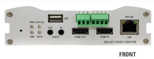 VS-103E-3GSDI front panel